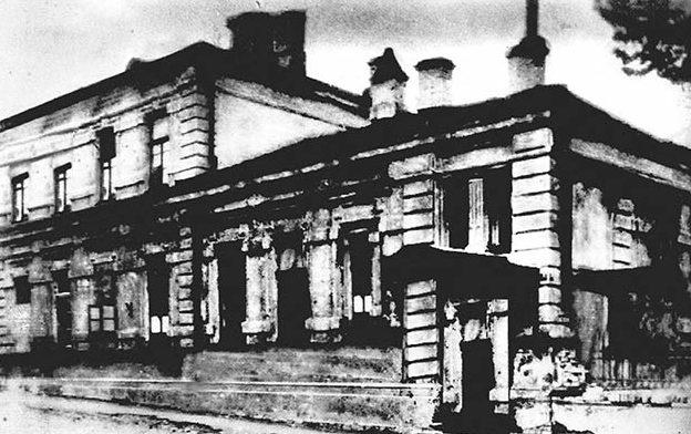 Здание СД по улице Политехнической. 1941 г.
