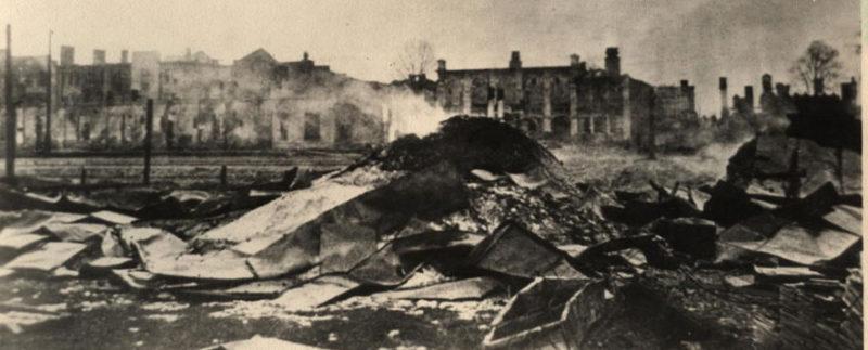 Железнодорожный вокзал. 1944 г.