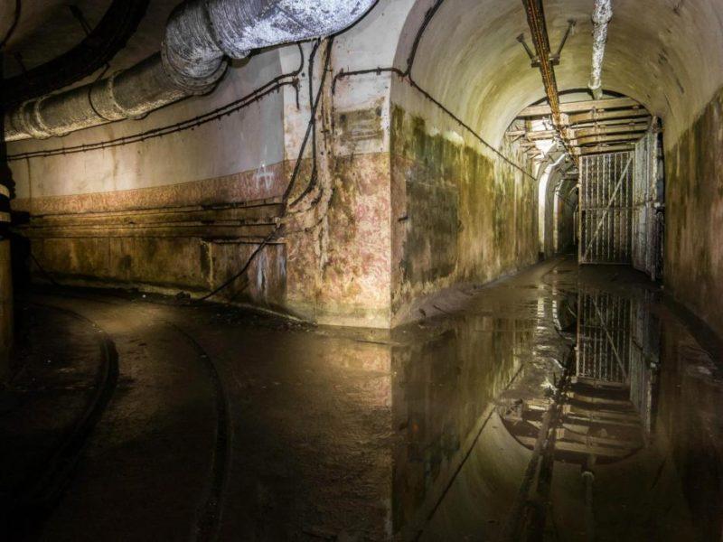 Подземные галереи.