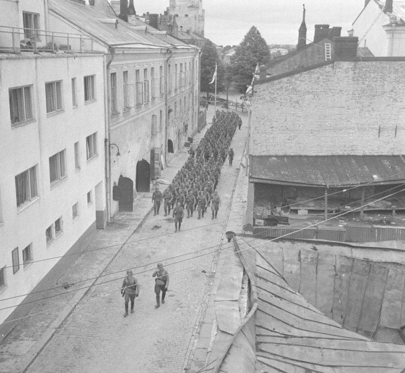Выборг в 1943 году.