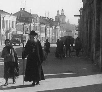 Смоленская улица. 1943 г.
