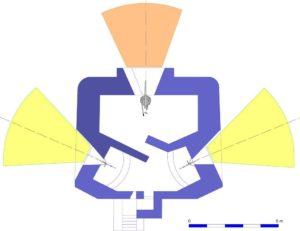 План блокпоста RFM35.