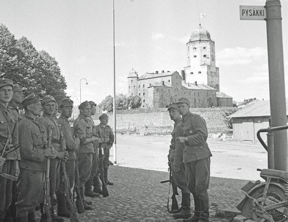 Финский гарнизон Выборга. Июнь 1944 г.