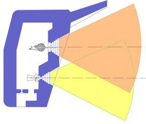 План блокпоста RFM36с с правосторонними амбразурами.