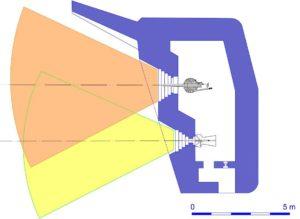 План блокпоста RFM36 с левосторонними амбразурами.