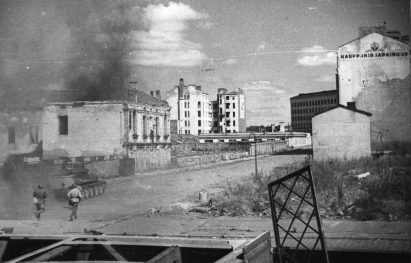 Уличные бои. Июнь 1944 г.