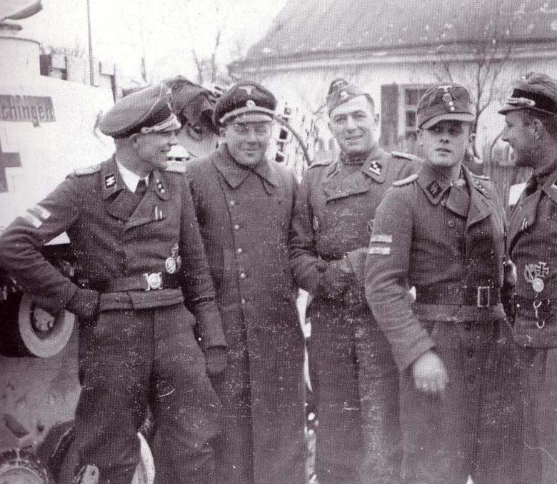 Болгарская противотанковая бригада СС. 1944 г.