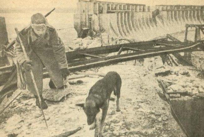 Разминирование города. 1943 г.