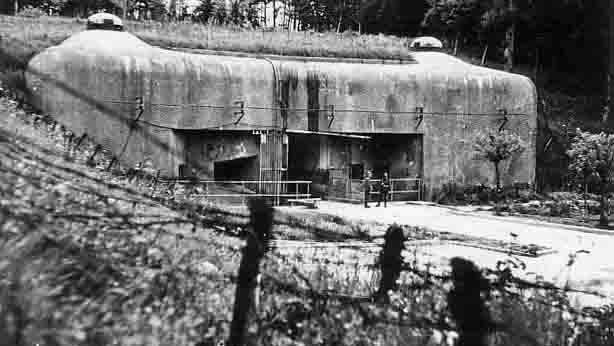 Входной блок для поставок боеприпасов в годы войны.