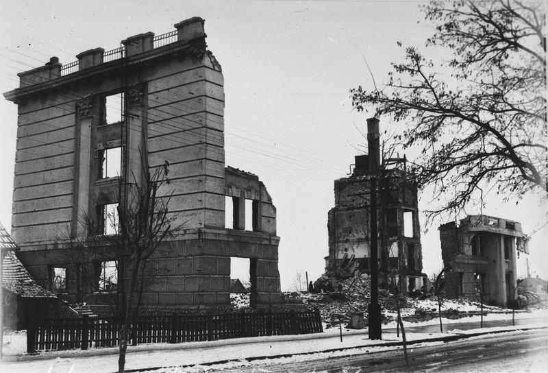 Здание НКВД. 1944 г.