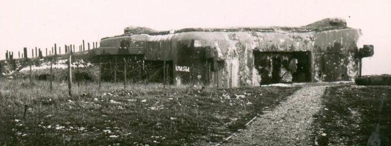 Каземат в годы войны и сегодня.