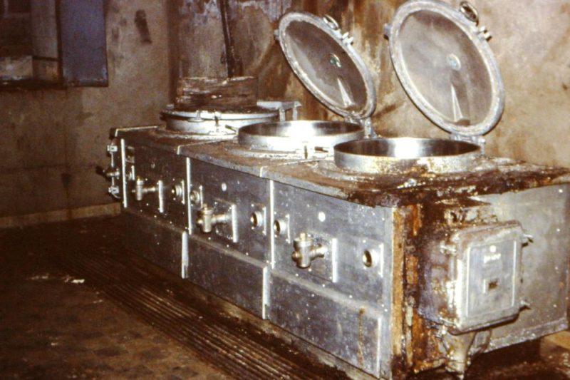 Электрические плиты кухни.