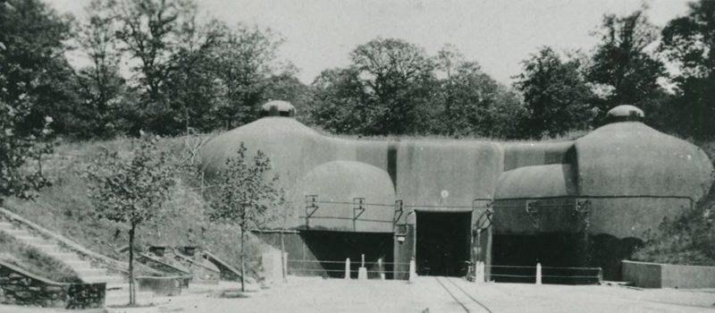 Входной блок для поставок боеприпасов в годы войны и сегодня.