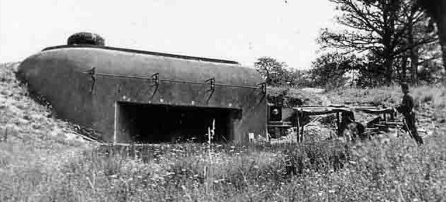 Блок №2 в годы войны.