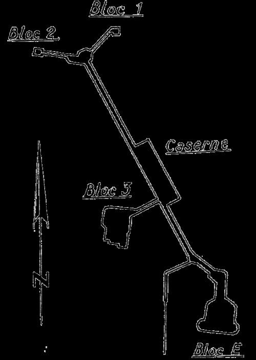 Схема форта.