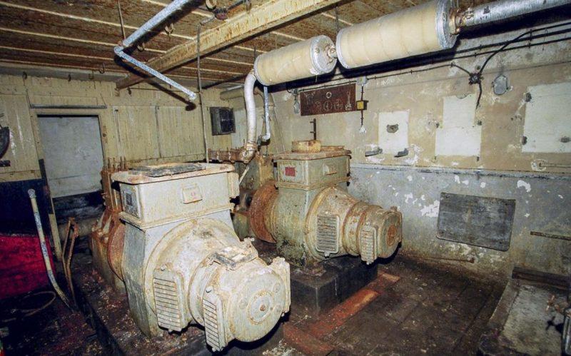 Электростанция форта.