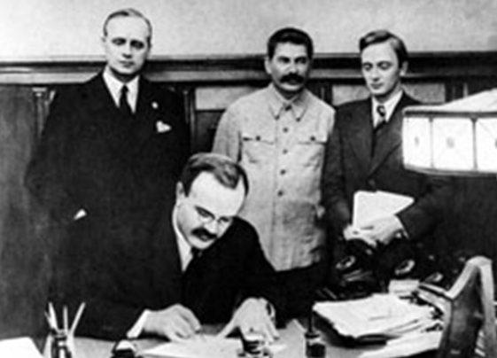 Подписание документов на Московской конференции. 1 октября 1941 г.