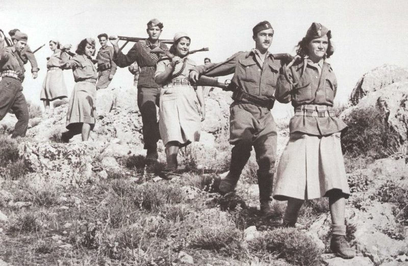 Партизаны ELAS. 1943 г.