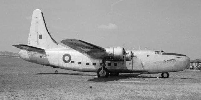 Бомбардировщик, использовавшийся в качестве личного самолета У. Черчилля.