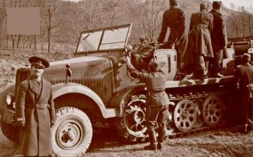 Румынский 2-й моторизованный полк на Восточном фронте. 1942 г.