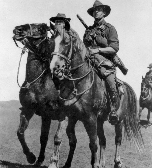 Австралийская легкая кавалерия. 1943 г.