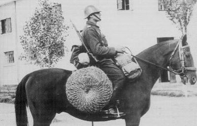 Румынский кавалерист. 1940 г.