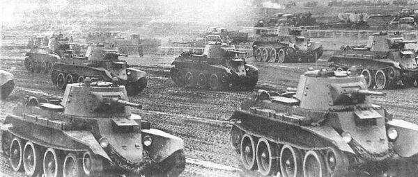 Танковый бой под Дубно.