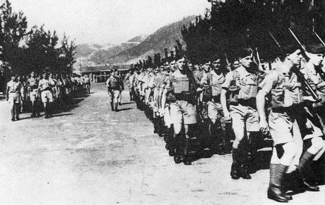 Канадские войска, прибывшие в Гонконг.
