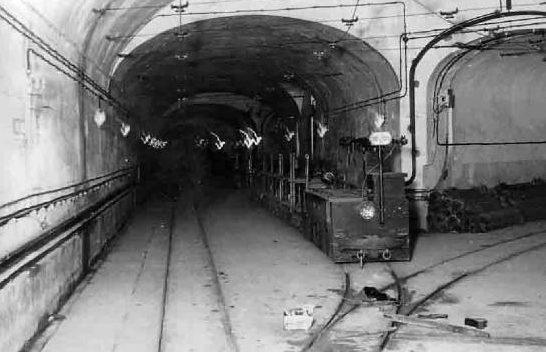 Подземная галерея форта «Simserhof». 1939 г.