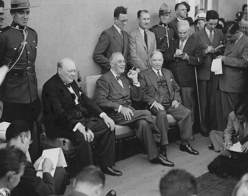 Пресс-конференция по итогам переговоров.