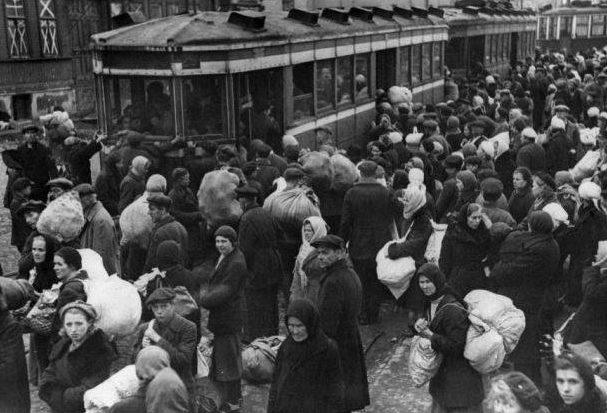 Эвакуация в Харькове.