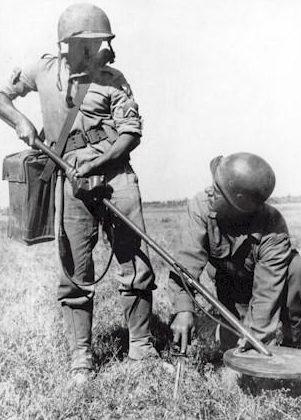 Обучение саперов. 1940 г.