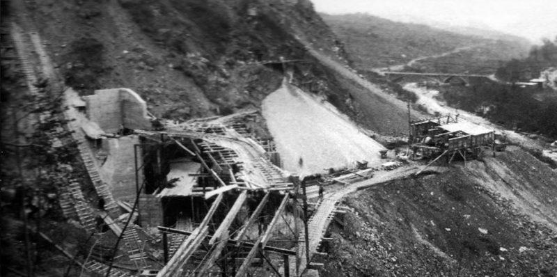 Строительства форта «Gordolon». 1935 г.