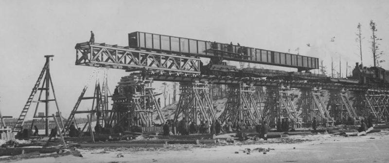 Строительство мостов.