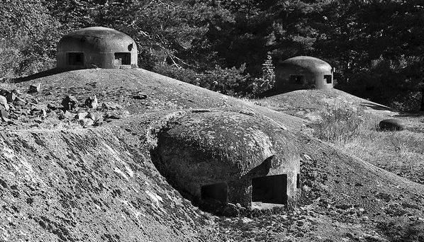 Бронебашни форта «Flaut». 1939 г.
