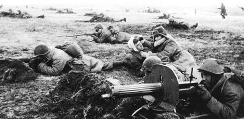 Боевые действия на Южном фронте.