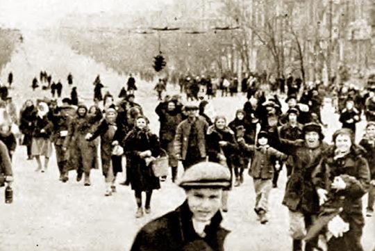 Освобождение Ростова от немецких захватчиков. 29 ноября 1941 г.