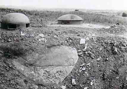 Бронебашни Блока №2 форта «Schoenenbourg». 1939 г.
