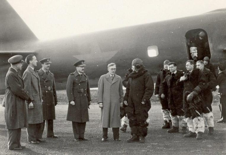 Проводы делегации. 3 октября 1941 г.