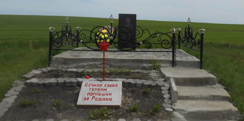 с. Лубянка Медвенского р-на. Братская могила советских воинов, погибших в годы войны.