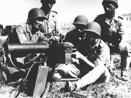 Обучение пулеметчиков. 1940 г.