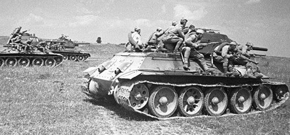 Войска фронта в битве за Донбасс.