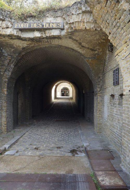 Входной тоннель.