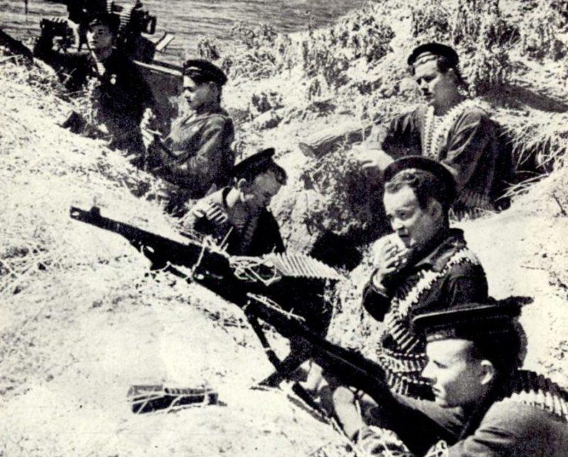 Оборона Новороссийска. Август 1942 г.