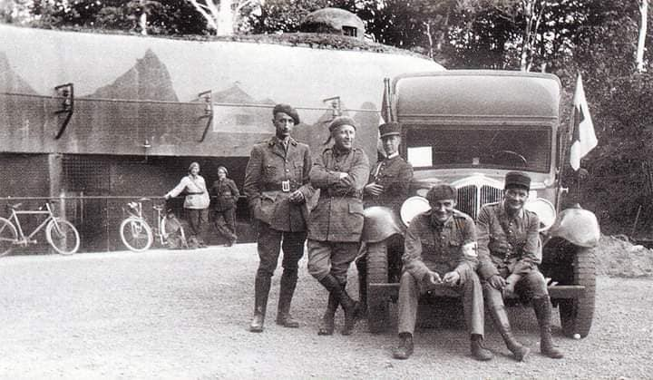 Персонал форта «Bousse». 1935 г.