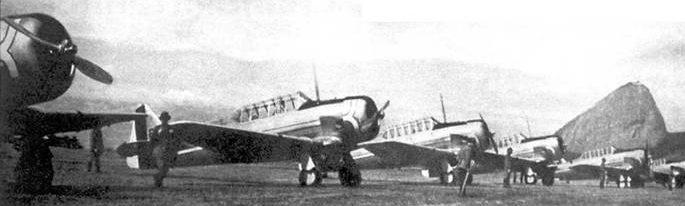 Легкие штурмовики NA-72 - охотники за подводными лодками. 1942 г.