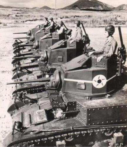 Танки Бразилии – М3 «Стюарт». 1942 г.
