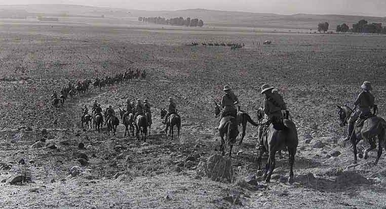 Британская кавалерия в Сирии. 1941 г.