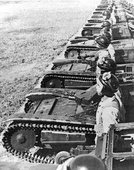 Бразильские танкетки. 1942 г.