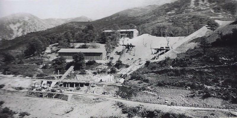 Строительство форта «Agaisen». 1936 г.